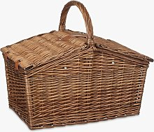 Croft Collection Filled Wicker Picnic Basket, 4