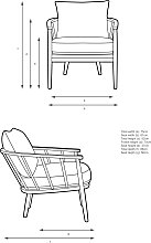 Croft Collection Frome Armchair