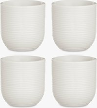 Croft Collection Luna Egg Cup, Set of 4, Natural