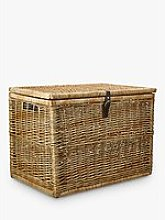 Croft Collection Woven Trunk, Natural