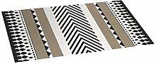 Croma Origins Stone Quilted Vinyl Rug 50 x 110 cm