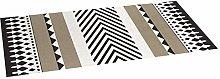 Croma Origins Stone Quilted Vinyl Rug 50 x 140 cm