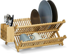 CROSS Dish Drainer with Cutlery Basket, Total