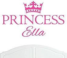 Crown Princess Ella Large Wall Sticker/Vinyl Decal