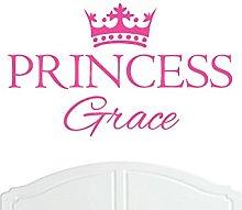 Crown Princess Grace Regular Wall Sticker / Vinyl
