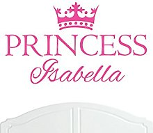 Crown Princess Isabella Large Wall Sticker/Vinyl