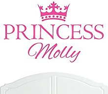 Crown Princess Molly Regular Wall Sticker / Vinyl