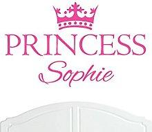 Crown Princess Sophie Large Wall Sticker/Vinyl