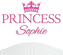 Crown Princess Sophie Regular Wall Sticker / Vinyl