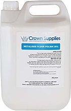 Crown Supplies Metalised Floor Polish 20% 5LT