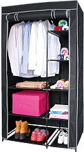 Croy 50cm Wide Portable Wardrobe Rebrilliant