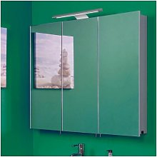 Croydex Bathroom Mirror Cabinet LED Illuminated