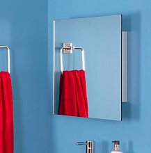 Croydex Dart Single Door Stainless Steel Mirror