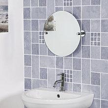 Croydex Flexi Fix Bathroom Mirror 380 x 380mm -