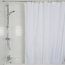 Croydex High Performance White Textile Shower