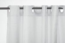 Croydex Hookless Shower Curtain Plain - White.