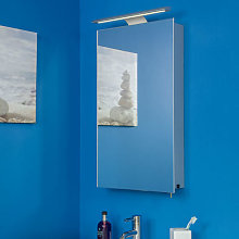 Croydex Jefferson LED Mirror Cabinet with Shaver