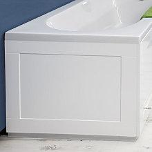 Croydex Unfold N Fit White Bath Panel &