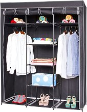 Croyle 45cm Wide Portable Wardrobe Rebrilliant
