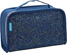 Crunch Glitter CC Lunch Bag - Navy