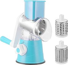 Cryfokt Rotary Cheese Grater, Manual Round