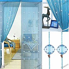 Crystal Beads String Tassel Curtain - Partition