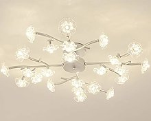 Crystal Branching Chandelier Nordic LED Romantic