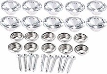 Crystal Buttons for Upholstery 20mm Victorian