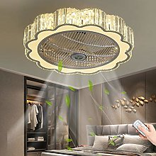 Crystal Ceiling Fan with Lighting LED Ceiling