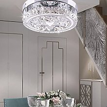 Crystal Ceiling Light, 3 Color Modes Dimmable Star