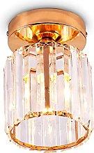 Crystal Ceiling Light Mini Chandelier Flush Mount