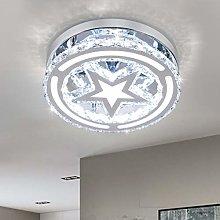 Crystal Ceiling Light, Modern LED Crystal