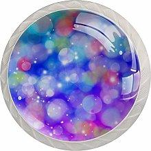 Crystal Colorful Crystal Glass Cupboard Wardrobe