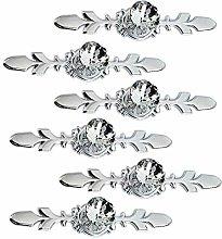Crystal Drawer Knobs Diamond Cabinet Pull Handles