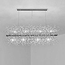 Crystal Island Chandelier LED Dandelion Pendant