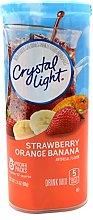 Crystal Light Strawberry Orange Banana, 12-Quart