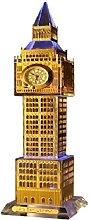 Crystal London Big Ben Clock with Lights, England