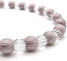 Crystal Pair of Tiebacks Rope Diamante Decorative