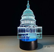 Crystal Table Lamp White House Table Lamp 3D