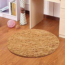 CS Carpet Living Room,Simple Round Rug Study Desk