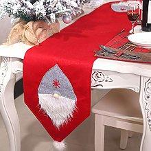 CS COSDDI Christmas Table Runner, Table Linens for