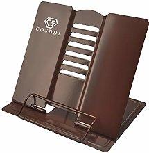 CS COSDDI Metal Book Stand Cookbook Holder