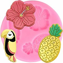 CSCZL Tropical Theme Hibiscus Toucan Pineapple