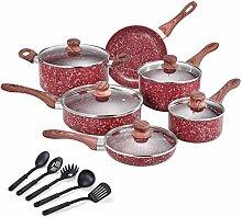 CSK Nonstick Cookware Set – Pots and Pans Set w/