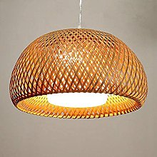 CSSYKV Chinese Style Bamboo Woven Chandelier Dome