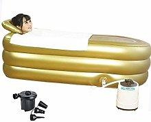 CTEGOOD Inflatable Bathtub Adult Portable Sauna