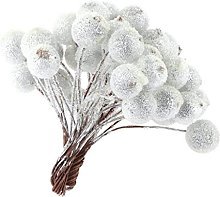 CTGVH Christmas Decorations, 40Pcs Frosted
