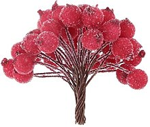 CTGVH Christmas Decorations Garland, 40Pcs Frosted