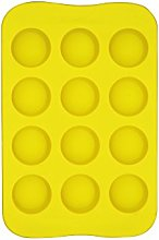 CTGVH Silicone Ice Cube Trays, 1 PCS Chocolate