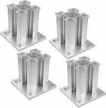 CTO Kitchen Aluminum Furniture Legs Feet, Square
